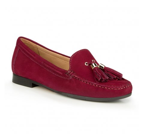 Frauen Schuhe, dunkelpink, 87-D-711-2-37, Bild 1
