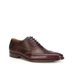 Männer Schuhe, dunkelrot - braun, 87-M-917-2-43, Bild 1