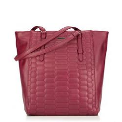 Einkaufstasche, dunkelrot, 87-4Y-555-3, Bild 1