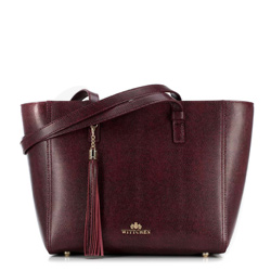 Einkaufstasche, dunkelrot, 89-4-703-2, Bild 1