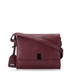 Flap-Tasche, dunkelrot, 87-4Y-715-V, Bild 1