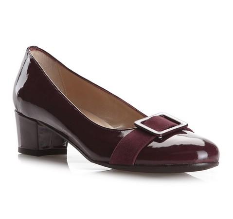Frauen Schuhe, dunkelrot, 79-D-409-2-36, Bild 1