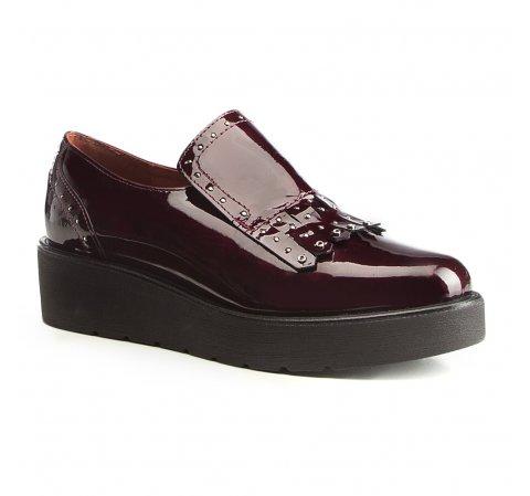 Frauen Schuhe, dunkelrot, 87-D-453-2-35, Bild 1