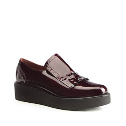 Frauen Schuhe, dunkelrot, 87-D-453-2-37, Bild 1