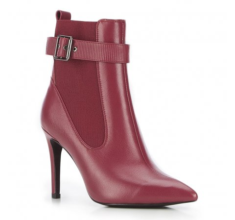 Frauen Schuhe, dunkelrot, 87-D-908-2-37, Bild 1
