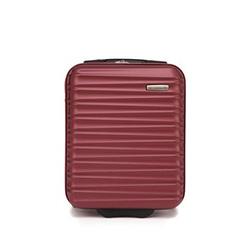 Kabinenkoffer aus ABS mit Rippen, dunkelrot, 56-3A-315-31, Bild 1