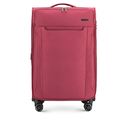 Großer Koffer, dunkelrot, 56-3S-563-35, Bild 1
