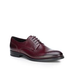 Männer Schuhe, dunkelrot, 87-M-602-2-45, Bild 1