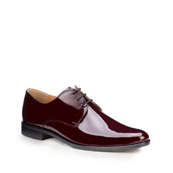 Männer Schuhe, dunkelrot, 87-M-703-2-44, Bild 1