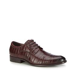 Männer Schuhe, dunkelrot, 87-M-903-2-45, Bild 1