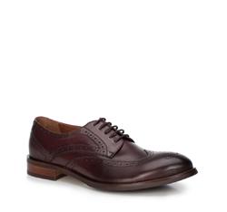 Männer Schuhe, dunkelrot, 88-M-812-2-45, Bild 1
