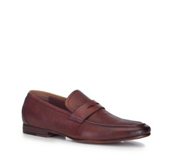 Männer Schuhe, dunkelrot, 88-M-900-5-40, Bild 1