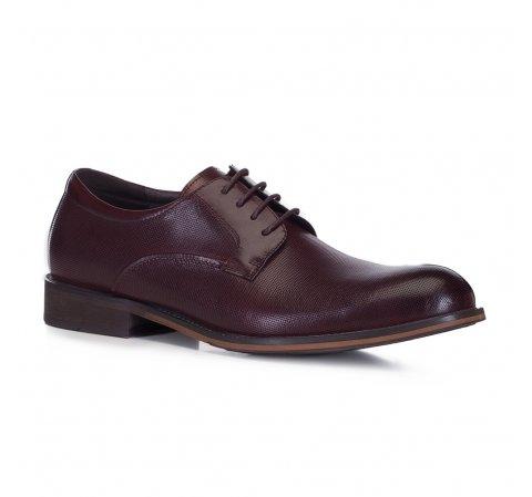 Männer Schuhe, dunkelrot, 88-M-932-1-45, Bild 1