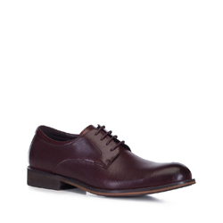 Männer Schuhe, dunkelrot, 88-M-932-2-41, Bild 1