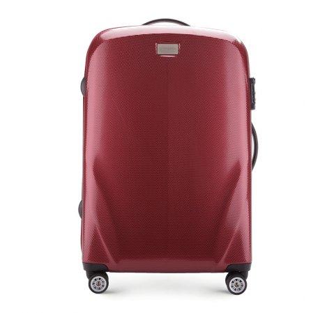 roter Koffer aus der PC Ultra Light-Kollektion