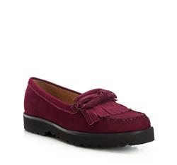 Schuhe, dunkelrot, 85-D-700-2-37, Bild 1