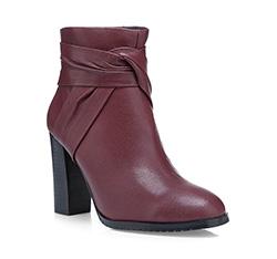Schuhe, dunkelrot, 85-D-905-2-38, Bild 1