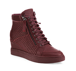 Schuhe, dunkelrot, 85-D-910-3-38, Bild 1