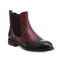 Schuhe, dunkelrot-schwarz, 85-D-903-2-36, Bild 1