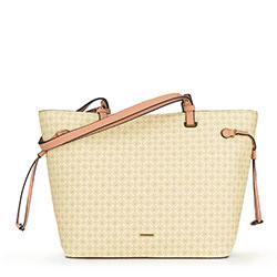 Einkaufstasche, ecru-beige, 90-4Y-614-0, Bild 1