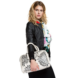 Damentasche, ecru, 86-4Y-202-0, Bild 1