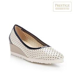 Frauen Schuhe, ecru, 82-D-108-0-37, Bild 1