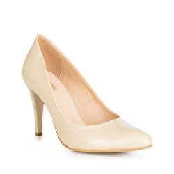 Frauen Schuhe, ecru, 90-D-201-9-39, Bild 1