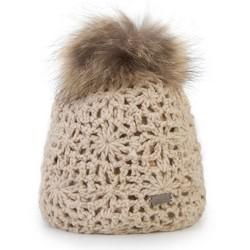 Mütze für Frauen, ecru, 87-HF-015-0, Bild 1