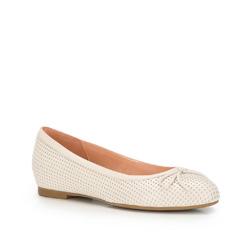 Női cipő, ekrü, 86-D-606-9-35, Fénykép 1
