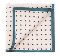 Нагрудный платок, экрю, 85-7P-X01-X11, Фотография 1
