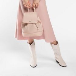 Обувь женская, экрю, 86-D-052-9-39, Фотография 1