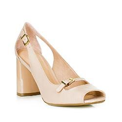 Обувь женская, экрю, 88-D-553-9-40, Фотография 1