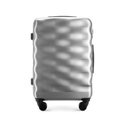 Közepes bőrönd, ezüst, 56-3H-562-00, Fénykép 1