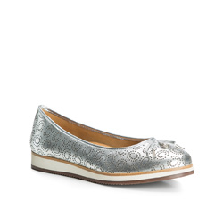 Női cipő, ezüst, 84-D-709-S-36, Fénykép 1