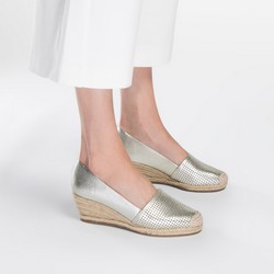 Női cipő, ezüst, 86-D-701-S-39, Fénykép 1