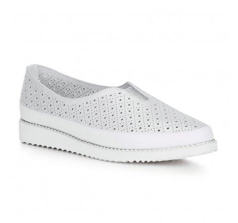 Női cipő, ezüst, 88-D-952-S-36, Fénykép 1