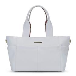 2 az 1-ben táska virágos béléssel, fehér, 92-4Y-212-0, Fénykép 1