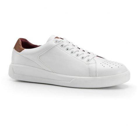Férfi cipő, fehér, 86-M-811-1-42, Fénykép 1