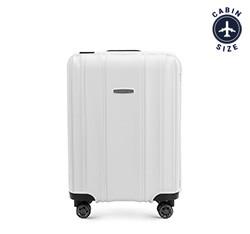 Kis bőrönd, fehér, 56-3T-731-88, Fénykép 1