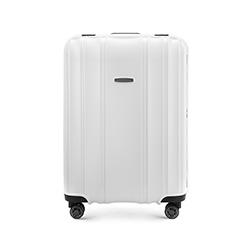 Közepes méretű bőrönd, fehér, 56-3T-732-88, Fénykép 1