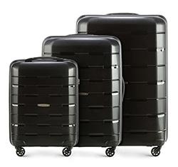 Bőröndszettek, fekete, 56-3T-72S-10, Fénykép 1