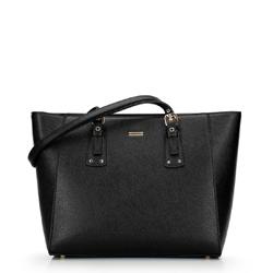 Shopper táska állítható fogantyúval, fekete arany, 92-4Y-610-01, Fénykép 1