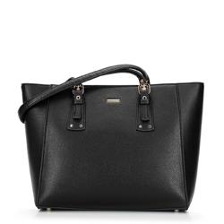 Shopper táska állítható fogantyúval, fekete arany, 92-4Y-610-1, Fénykép 1
