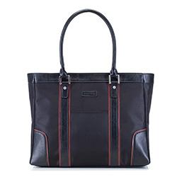 Női táska, fekete barna, 29-3-622-1, Fénykép 1