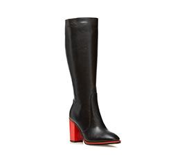 cipő, fekete, 85-D-208-1-41, Fénykép 1