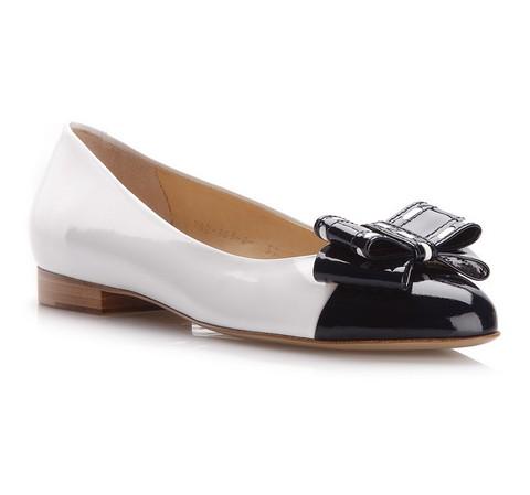 Női cipő, fekete és fehér, 78-D-109-7-36_5, Fénykép 1