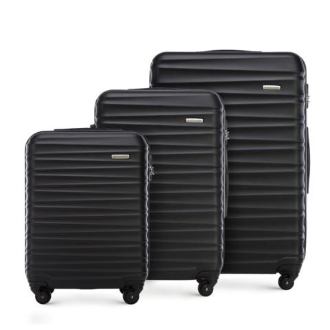 Bőröndszettek, fekete, 56-3A-31S-11, Fénykép 1