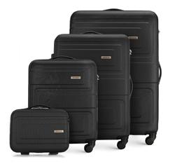 ABS bőrönd szett, fekete, 56-3A-63K-10, Fénykép 1
