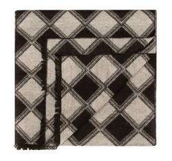 Férfi sál, fekete és fehér, 85-7M-S41-X1, Fénykép 1