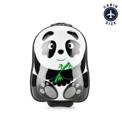 ABS gyermek bőrönd állat mintával, fekete és fehér, 56-3K-006-P, Fénykép 1